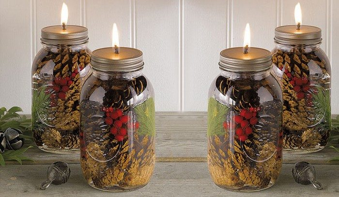 How to make homemade mason jar scented candles