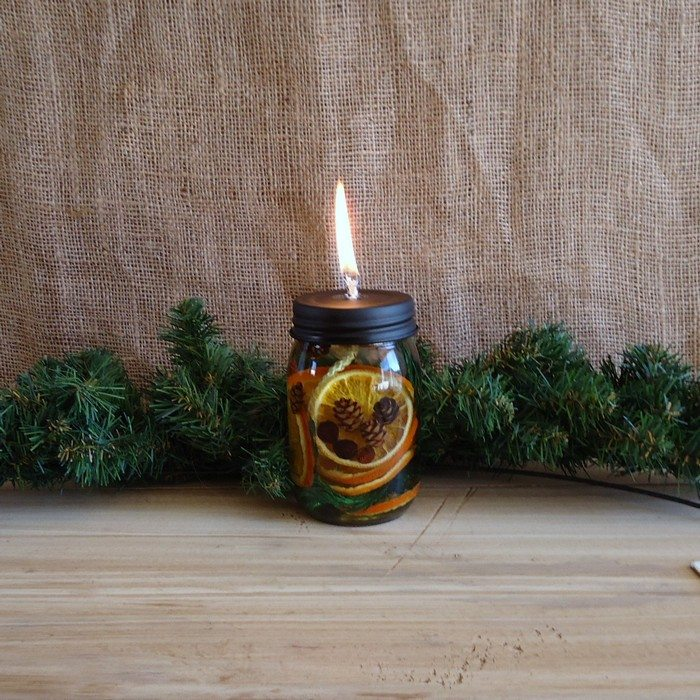 Make Your Own Scented Mason Jar Candles Craft Projects