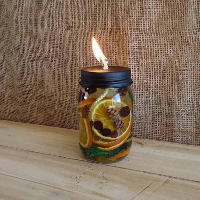 Scented Mason Jar Candles