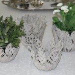 DIY Cement Lace Bowl