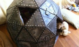 How to make a cardboard play dome