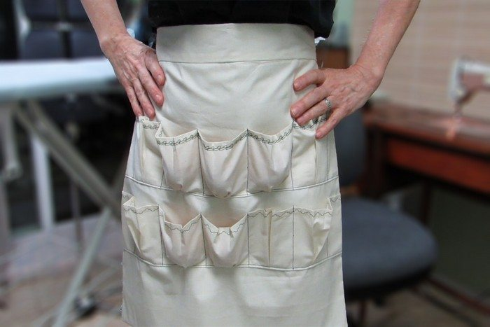 How to make a custom egg gathering apron