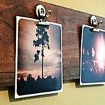 DIY Timber Photo Clipboard