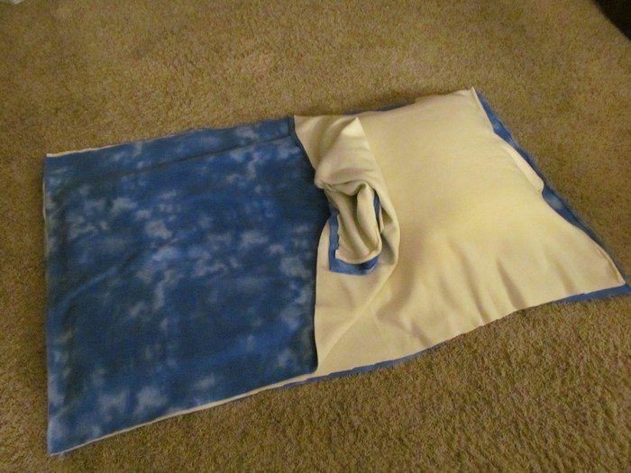 Pillowcase baby sleeping bag