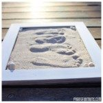 Sand Footprint Keepsakes