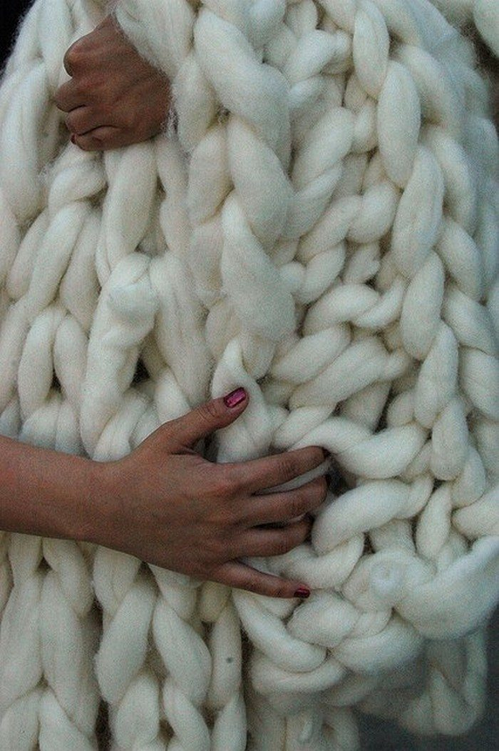 How To Make Chunky Knitted Blankets Craft Projects For