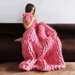 Chunky Knitted Blankets