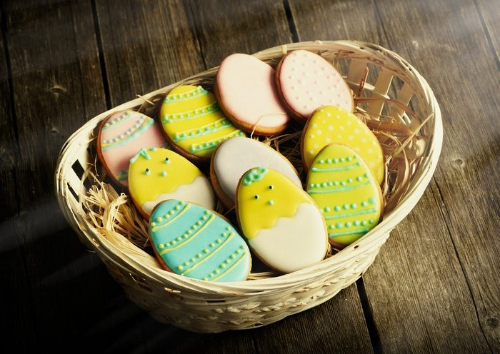 Making Easter cookies is a wonderful family activity!