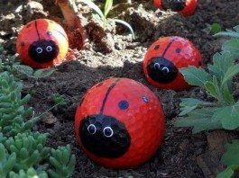 Golf Ball Ladybug Featured