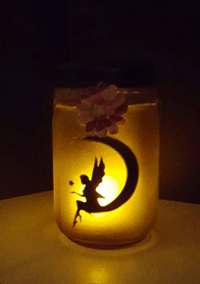How to make mason jar fairy lanterns | Craft projects for every fan!