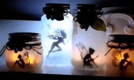 How to make mason jar fairy lanterns