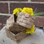 Woven Paper Easter Basket Samples