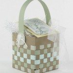 Woven Paper Easter Basket Samples