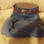 Old Jeans Lap Dog Bed Samples