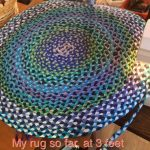 Braided T-Shirt Rug Samples