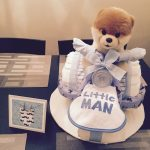 Tricycle Diaper Cake