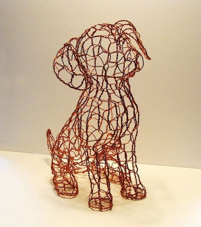 Chicken wire craft ideas craft projects for every fan for Chicken wire art
