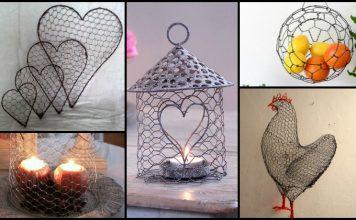 Chicken Wire Craft Ideas