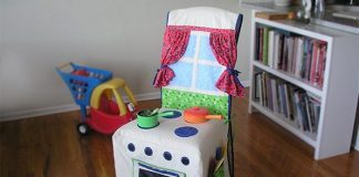 Kids Slipcover Chair