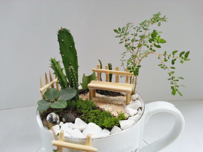 How To Make A Fairy Garden With Teacups Craft Projects For Every Fan