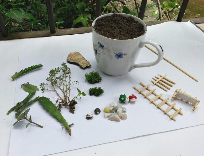 How to make a fairy garden with teacups | Craft projects for every fan ...
