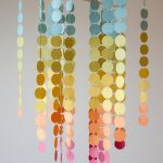 Paint Swatch Chandelier