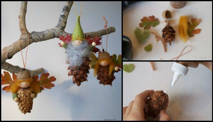 Pine cone fairies craft projects for every fan for Pine cone art projects