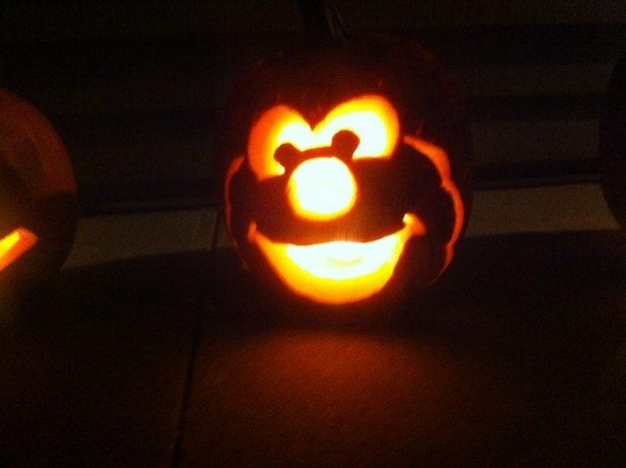 Make Sesame Street Pumpkins For A Cute Halloween Decor