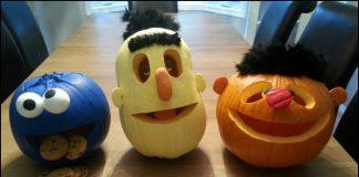Sesame Street Pumpkin