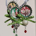 Bottle Cap Christmas Ornaments