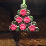 Bottle Cap Christmas Ornaments