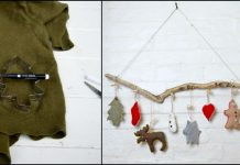 Sweater Christmas Ornaments
