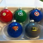 Superhero Christmas Ornaments