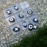 DIY Outdoor Tic Tac Toe