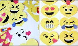 Easy Valentines Emoji Craft for Kids!
