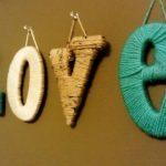 Ombre Yarn Monogram Letters