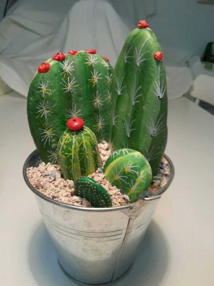 How To Make Cactus Rocks Craft Projects For Every Fan