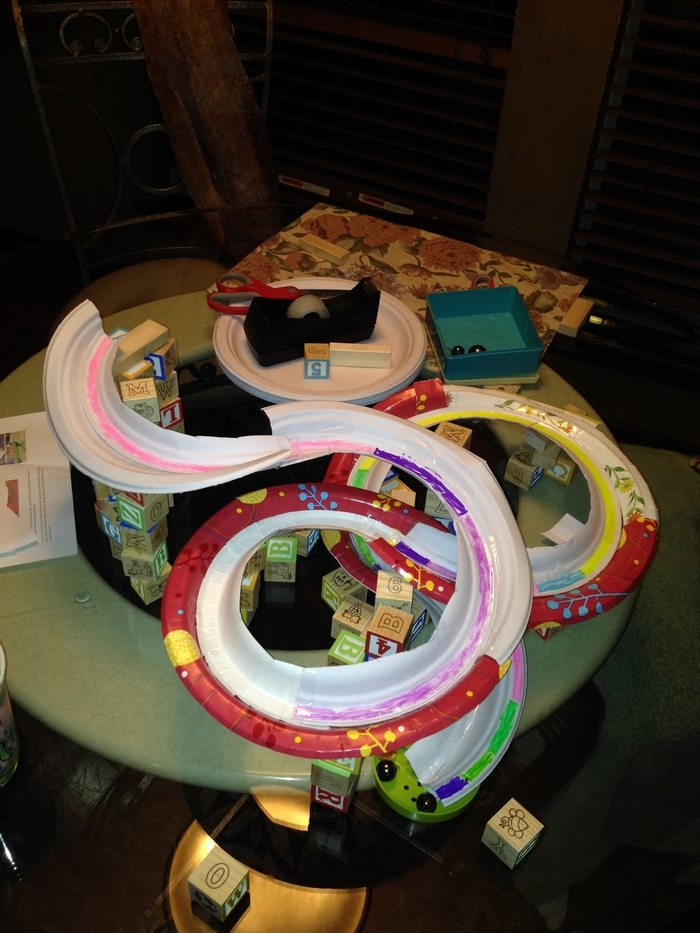 Build a marble run from recycled cardboard! | Craft ...