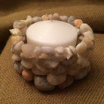 Pebble Candle Holders