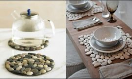 Crafty pebble decorating ideas for your home!