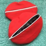 Red Lips - DIY Makeup Bag
