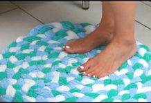 Towel Bath Mat