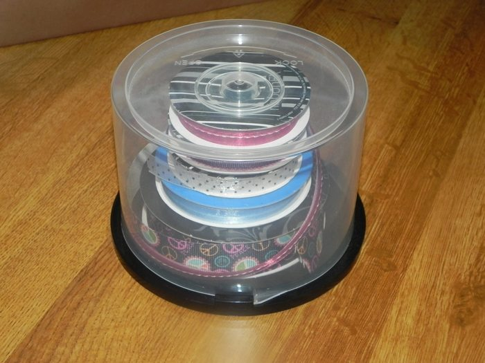 Old CD Container