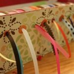 Shoe Box Ribbon Dispenser