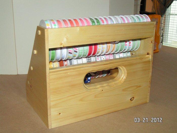 Shoe Box Ribbon Dispenser