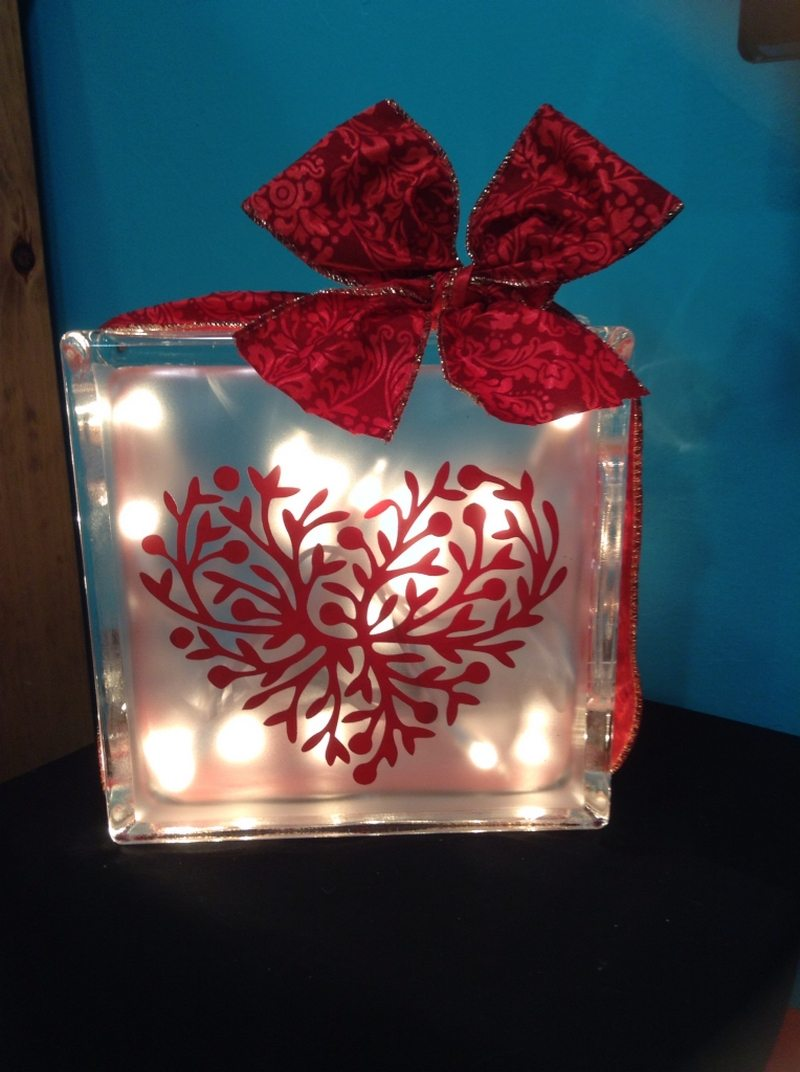 crafty glass block ideas you will love