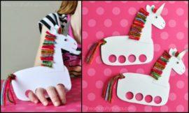 Easy Unicorn Puppets!