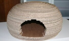 How to Make a Cardboard Igloo For Your Cat
