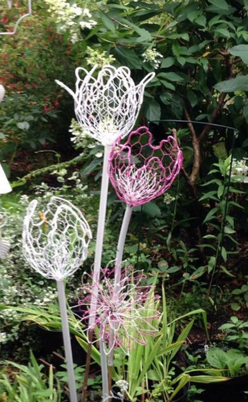 How To Make Chicken Wire Flowers Craft Projects For