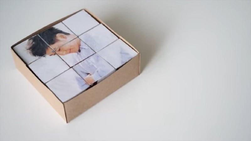 These DIY photo puzzle blocks will make great gifts for family and friends.